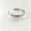 I Will Rule Adjustable Cuff Bracelet -- We Do Geek