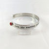 Change the Course Adjustable Cuff Bracelet -- We Do Geek