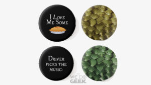 Our New Shop - buttons -- News --- We Do Geek
