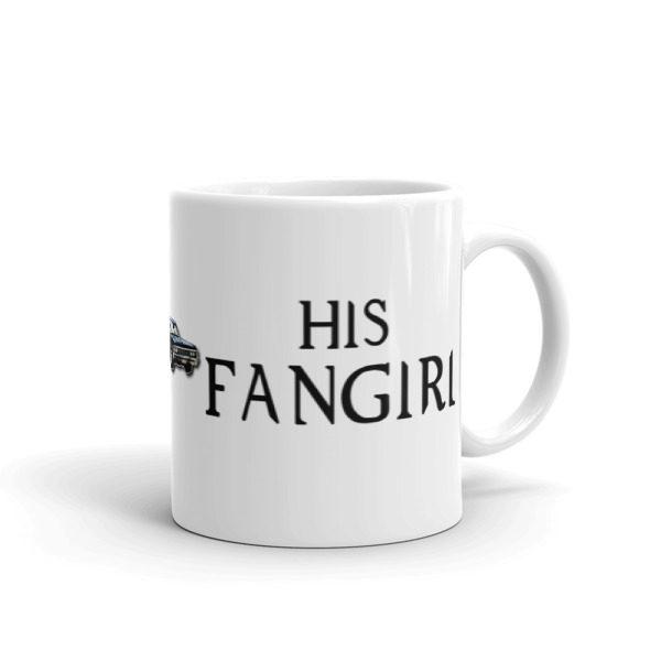 Impala Fangirl Coffee Mug (11oz) -- We Do Geek