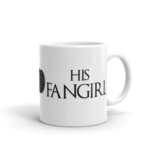 Queens and Dragons Fangirl Coffee Mug (11oz) -- We Do Geek