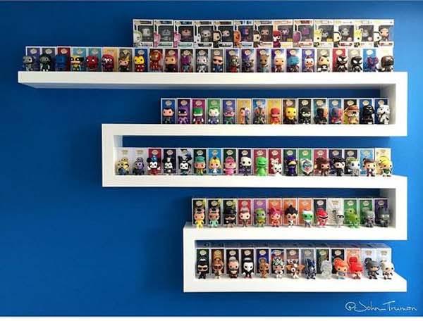 Funko Pop Display Shelf - The Office Of Funko Pop