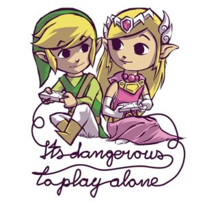 Mother's Day Gift Ideas for Geeky Mom -- Home and Family -- It's Dangerous To Play Alone from OnceUponATee --- We Do Geek.jpg
