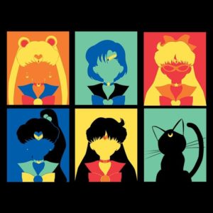 Mother's Day Gift Ideas for Geeky Mom -- Home and Family -- Sailor Pop Art from OnceUponATee --- We Do Geek.jpg