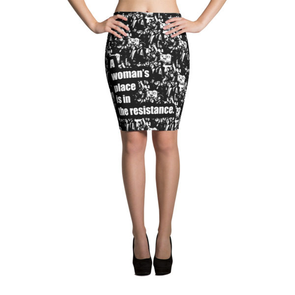 A Woman's Place Pencil Skirt -- We Do Geek