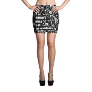 A Woman's Place Mini Skirt -- We Do Geek