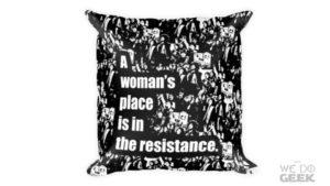 A New Design in our We Do Geek Shop -- News -- Geeky Throw Pillow --- We Do Geek