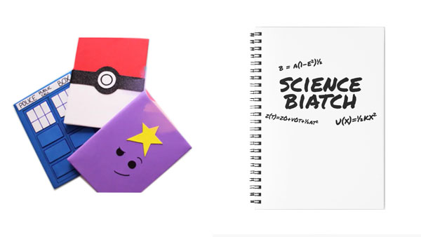 Back to School Backpacks and More -- Home and Family -- DIY and Science Notebooks --- We Do Geek