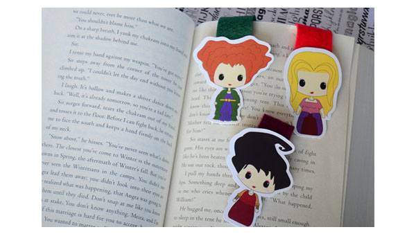 Back to School Backpacks and More -- Home and Family -- Geeky Hocus Pocus Movie Bookmarks --- We Do Geek