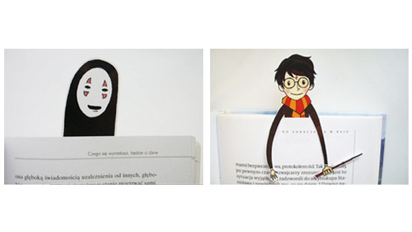 Back to School Backpacks and More -- Home and Family -- Geeky Spirited Away and Harry Potter Bookmarks --- We Do Geek