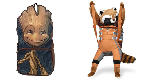Back to School Backpacks and More -- Home and Family -- Guardians of the Galaxy Groot and Rocket Racoon Backpack --- We Do Geek