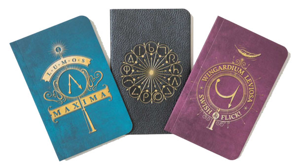 Back to School Backpacks and More -- Home and Family -- Harry Potter Notebooks --- We Do Geek