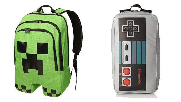 Back to School Backpacks and More -- Home and Family -- Video Games Backpack --- We Do Geek