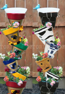 Geek Planter Ideas -- Home and Family -- Geek Tipsy Tower --- We Do Geek