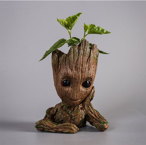 Geek Planter Ideas -- Home and Family -- Groot --- We Do Geek