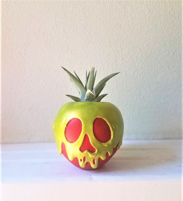 Geek Planter Ideas -- Home and Family -- Poisoned Apple --- We Do Geek