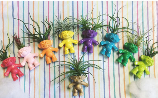 Geek Planter Ideas -- Home and Family -- Trolls --- We Do Geek