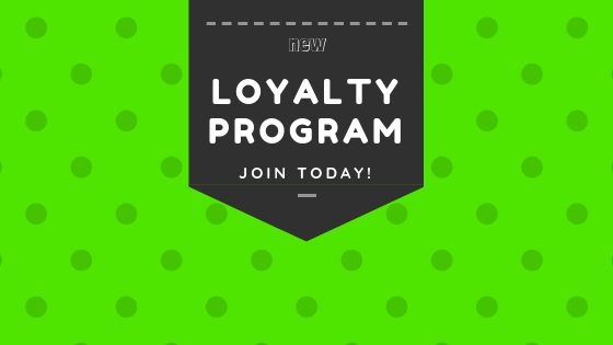 We Now Have a Loyalty Program in our Shop -- News --- We Do Geek