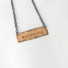 Adorkable Hashtag Necklace -- We Do Geek