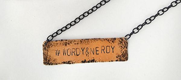 Hashtag Phrase Necklaces --- We-Do-Geek