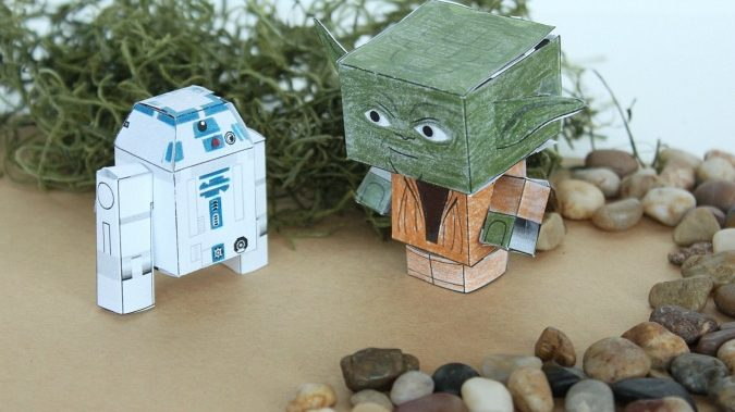 Crafts -- Star Wars Paper Crafts - Celebrating May 4th with a Giveaway