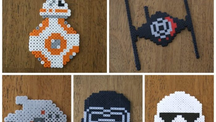 Crafts -- Star Wars Perler Beads - Celebrating May 4th with a Giveaway